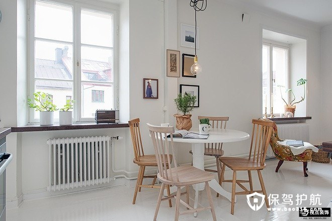 财贸宿舍北欧风格新房装修效果图