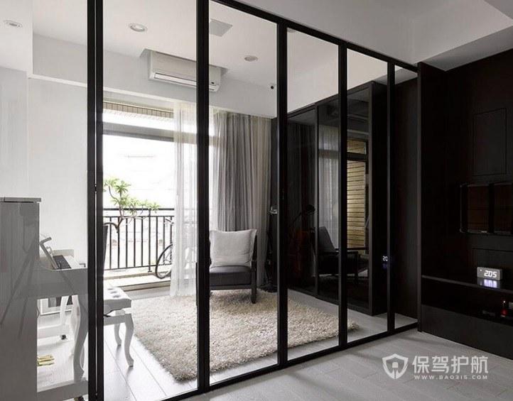 阳台推拉门窄边框和宽边框哪个好?推拉门如何选择样式