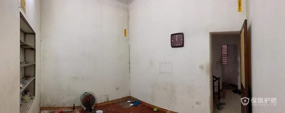 30㎡的老房,客厅无采光,仅花2w爆改后家里明亮清新