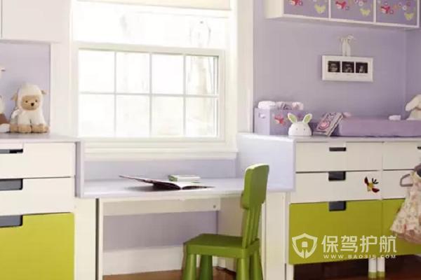 飘窗书桌一体怎样设计?飘窗书桌一体效果图