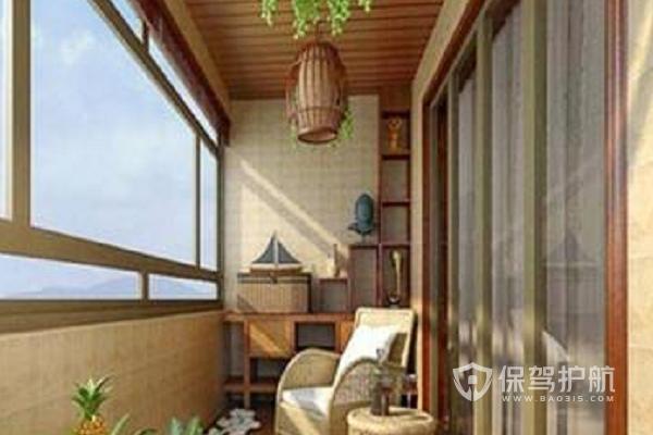 阳台吊顶用什么材料?阳台吊顶铝扣板怎么样?