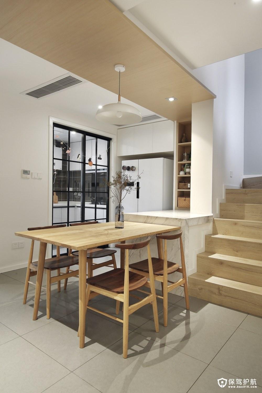 悦澜湾复式楼loft风格装修案例效果图