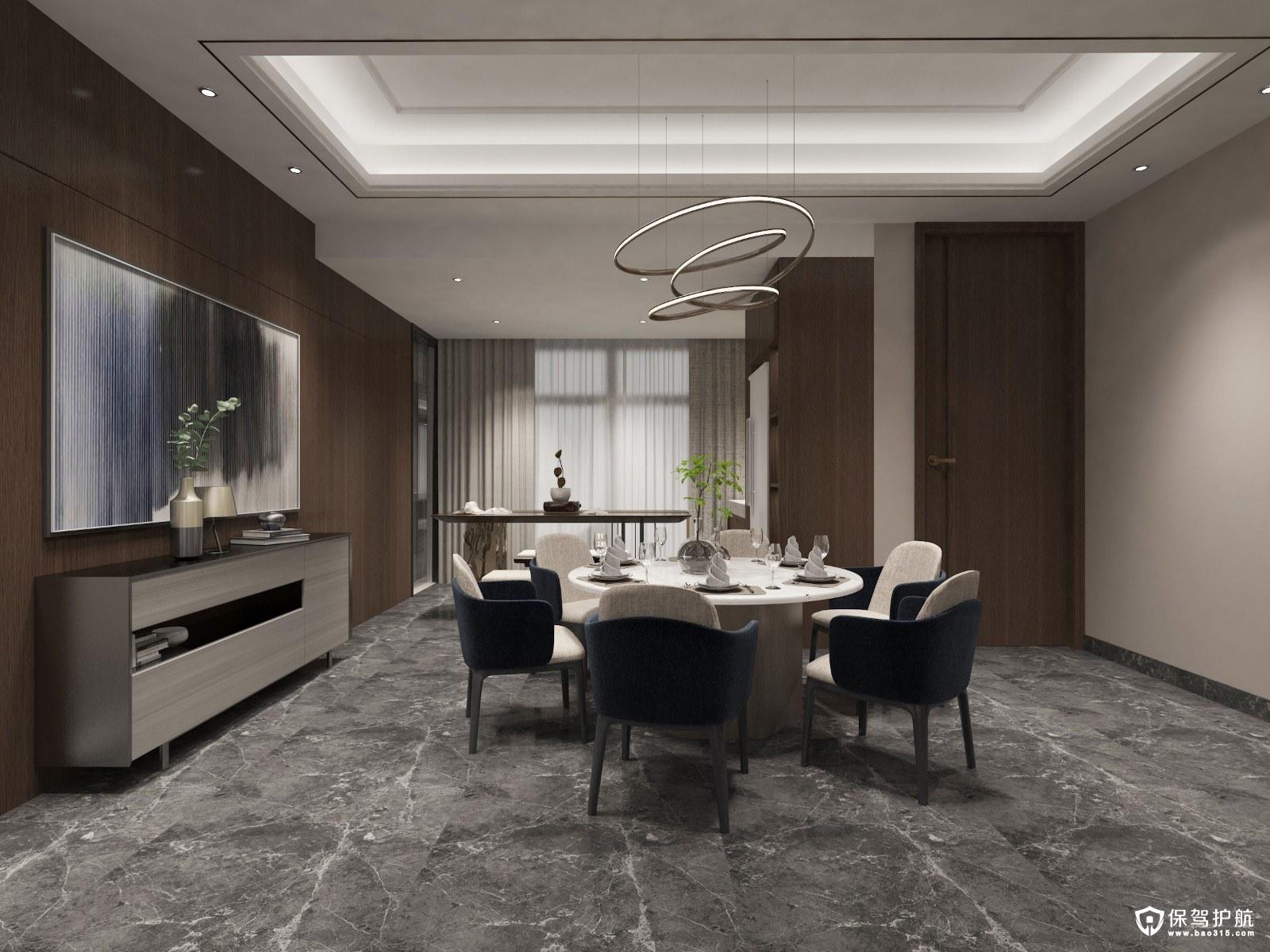 光谷青年城现代风格三居室装修效果图