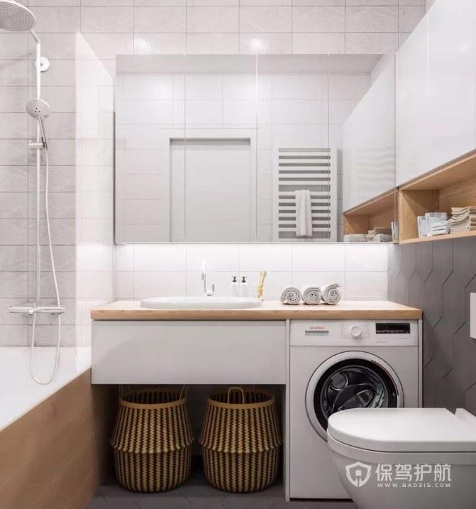 小卫生间收纳技巧:小卫生间空间如何利用?