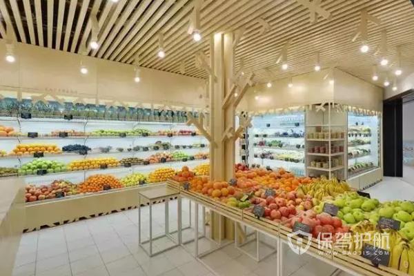 水果店现代风格怎么装?水果店现代风格装修图