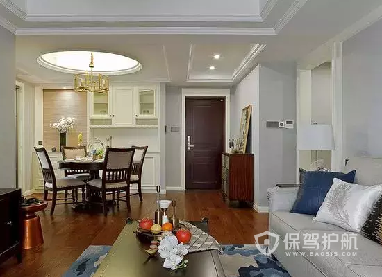 三室两厅怎样装修好看?113平米三室两厅装修效果图