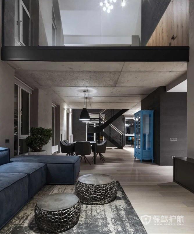 复式装修案例:上下楼120平方复式如何装修?