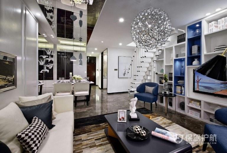 跃层公寓装修什么色调比较好?跃层公寓装修效果图