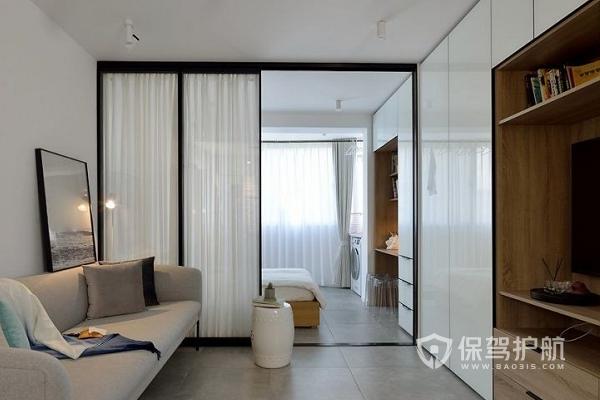 客厅如何隔个小房间?客厅隔个小房间效果图