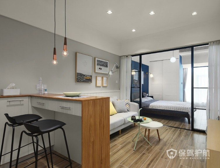 卧室很长怎么装修设计?长方形卧室如何布置软装?