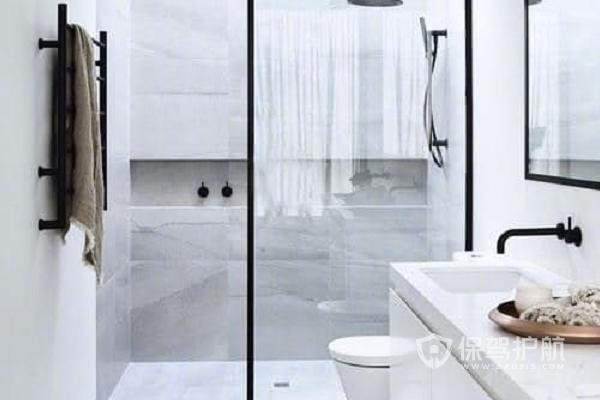 卫生间洗澡间怎样设计实用?卫生间洗澡间设计图片