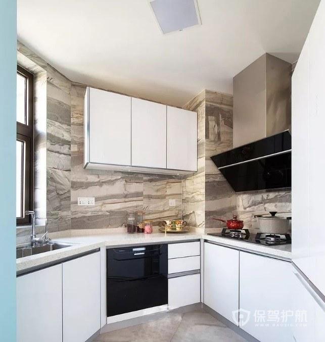 156平三居室不规则厨房装修效果图