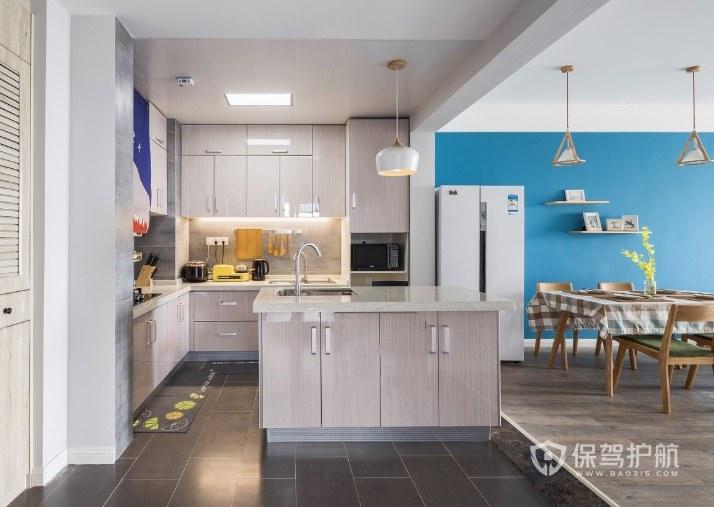 二居室开放式小厨房装修效果图