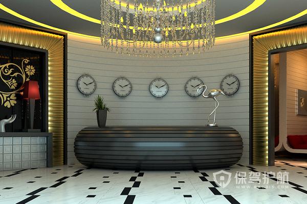 小型旅馆大厅怎样设计?小型旅馆大厅效果图
