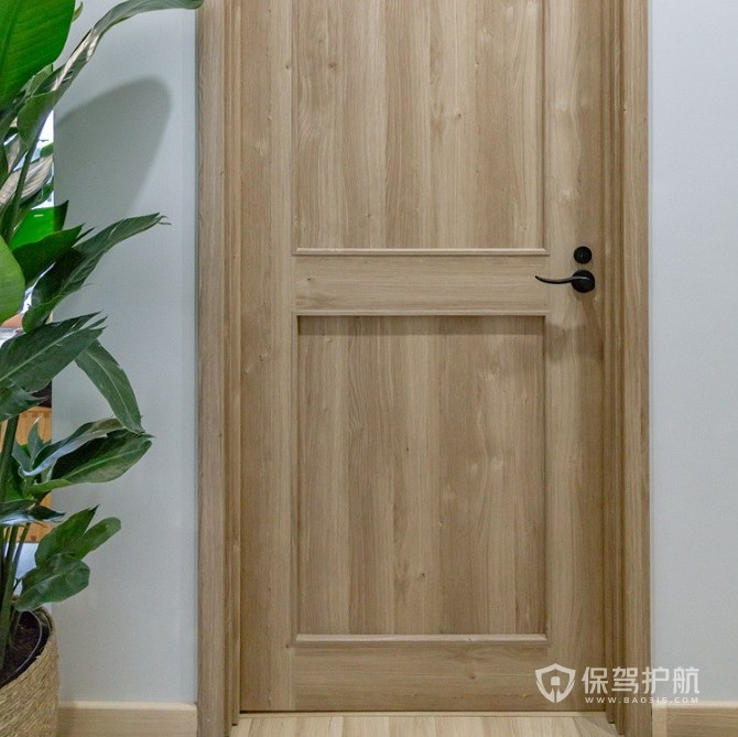 家居门套如何安装? 木纹色门套装修效果图