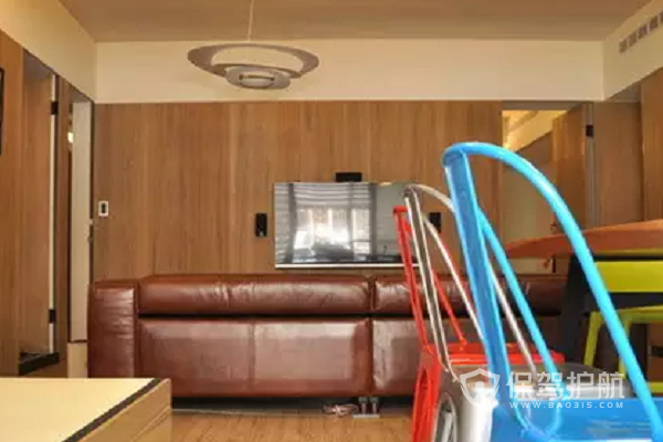 復式樓吊燈安裝效果圖-保駕護航裝修網