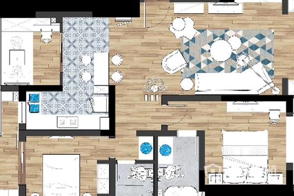 【兩室兩廳改成三室一廳】兩室兩廳改成三室一廳案例