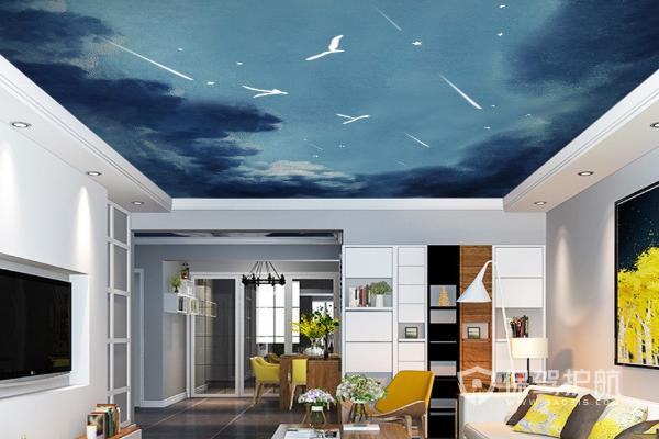 客廳吊頂設計類型有哪些?客廳一級吊頂圖片