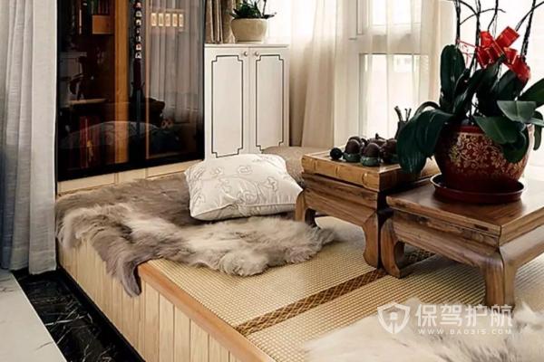 客廳怎樣隔出一個小房間?客廳連陽臺隔出一小臥室圖