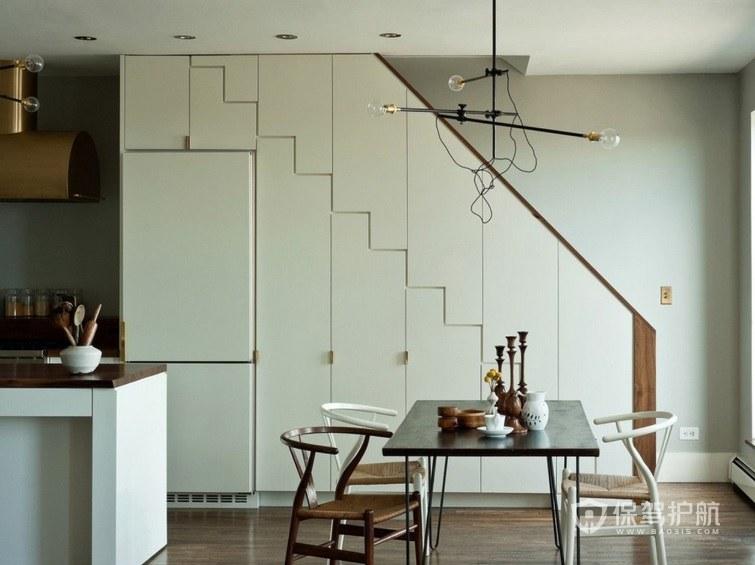 小戶型日式風格樓梯櫥柜裝修效果圖
