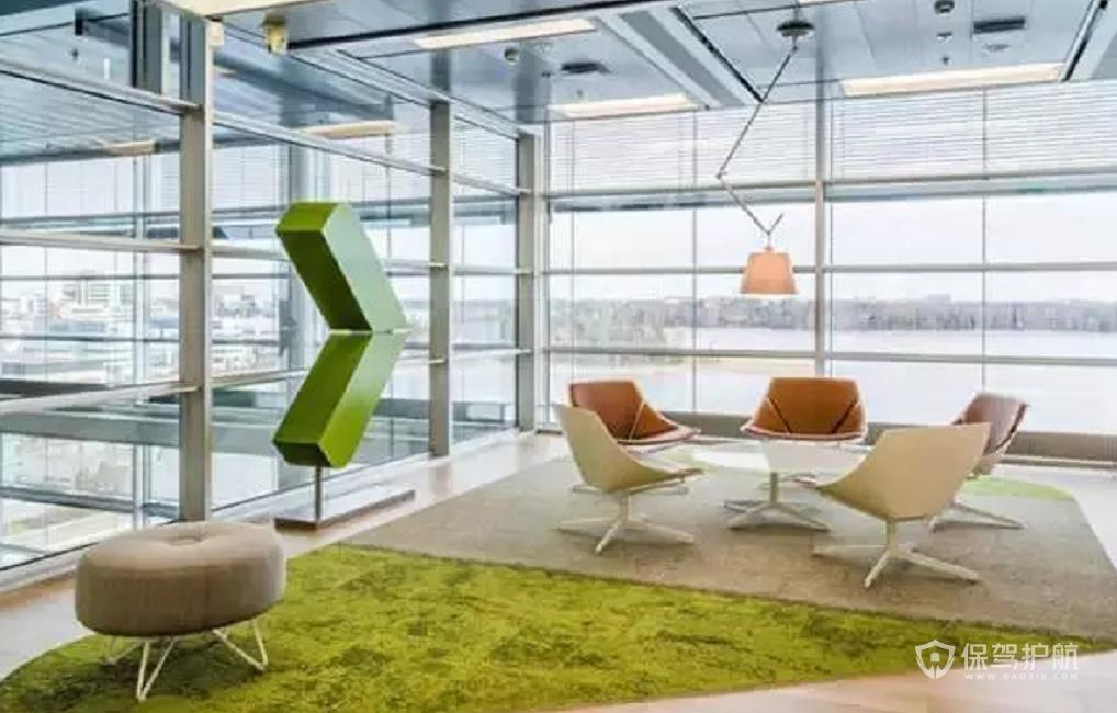 時尚風格辦公室休閑區裝修效果圖