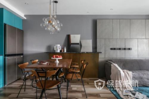 房屋復古灰色裝修—保駕護航裝修網