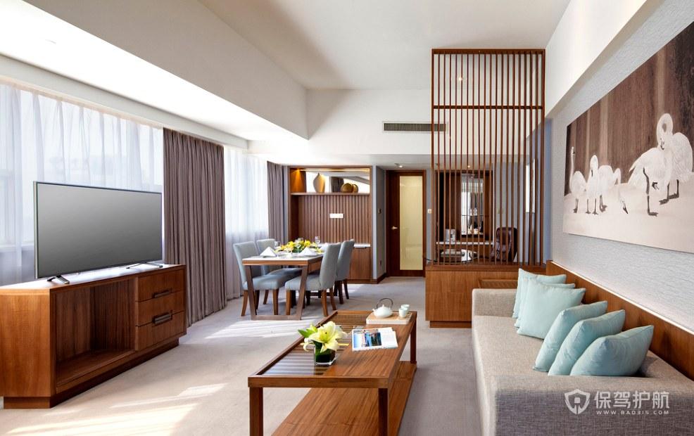 現代風格酒店套房裝修效果圖