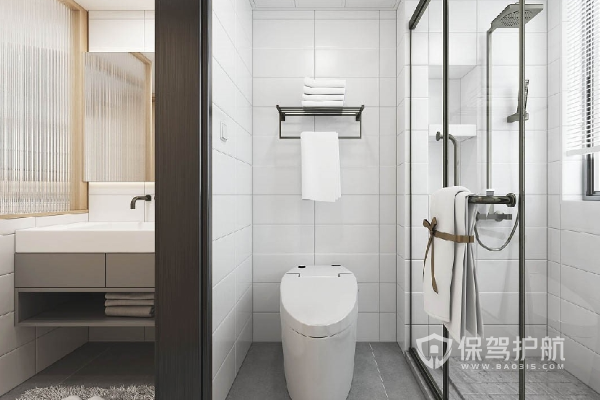 衛浴間裝修效果圖-保駕護航裝修網