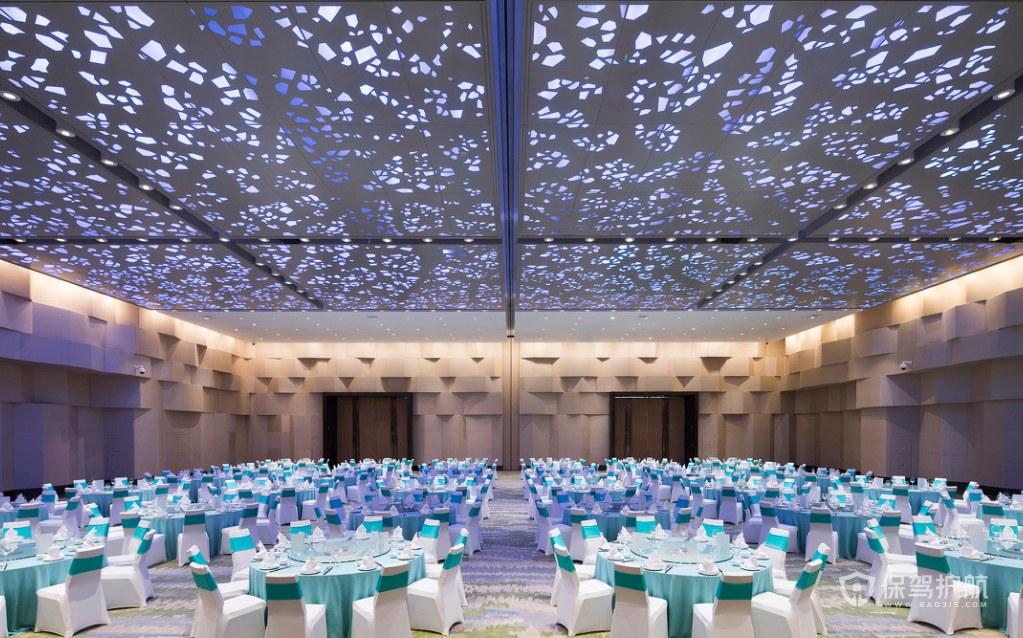 浪漫星級海景酒店婚宴廳裝修效果圖
