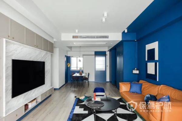 【121㎡家装效果图现代简约】121㎡现代简约家装设计案例