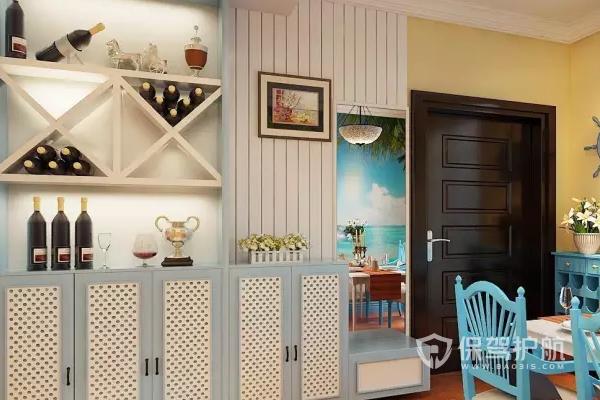 家裝設計酒柜怎么做?家裝設計酒柜的效果圖